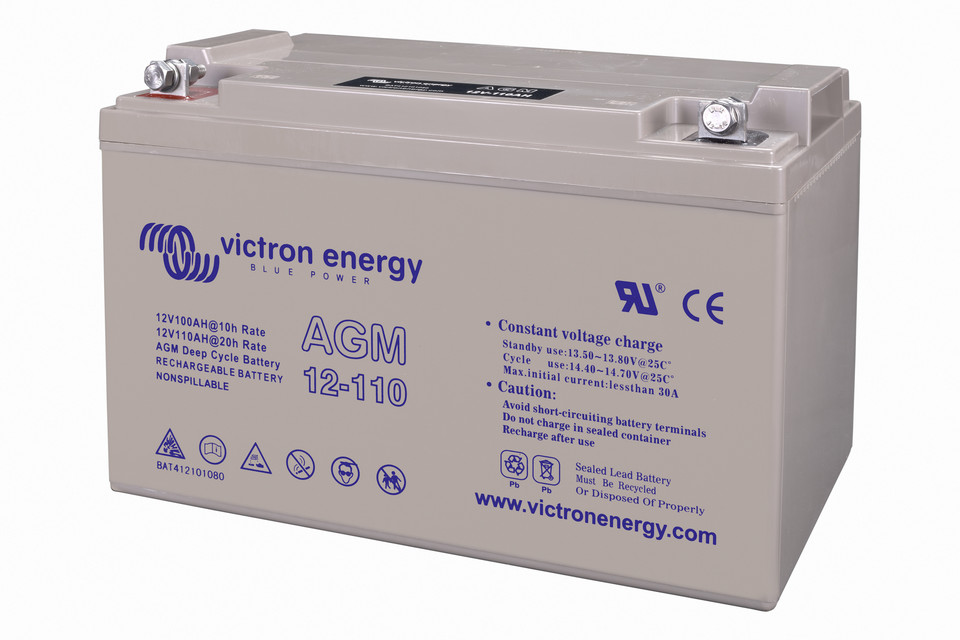 Bater 237 As Gel Y Agm Victron Energy