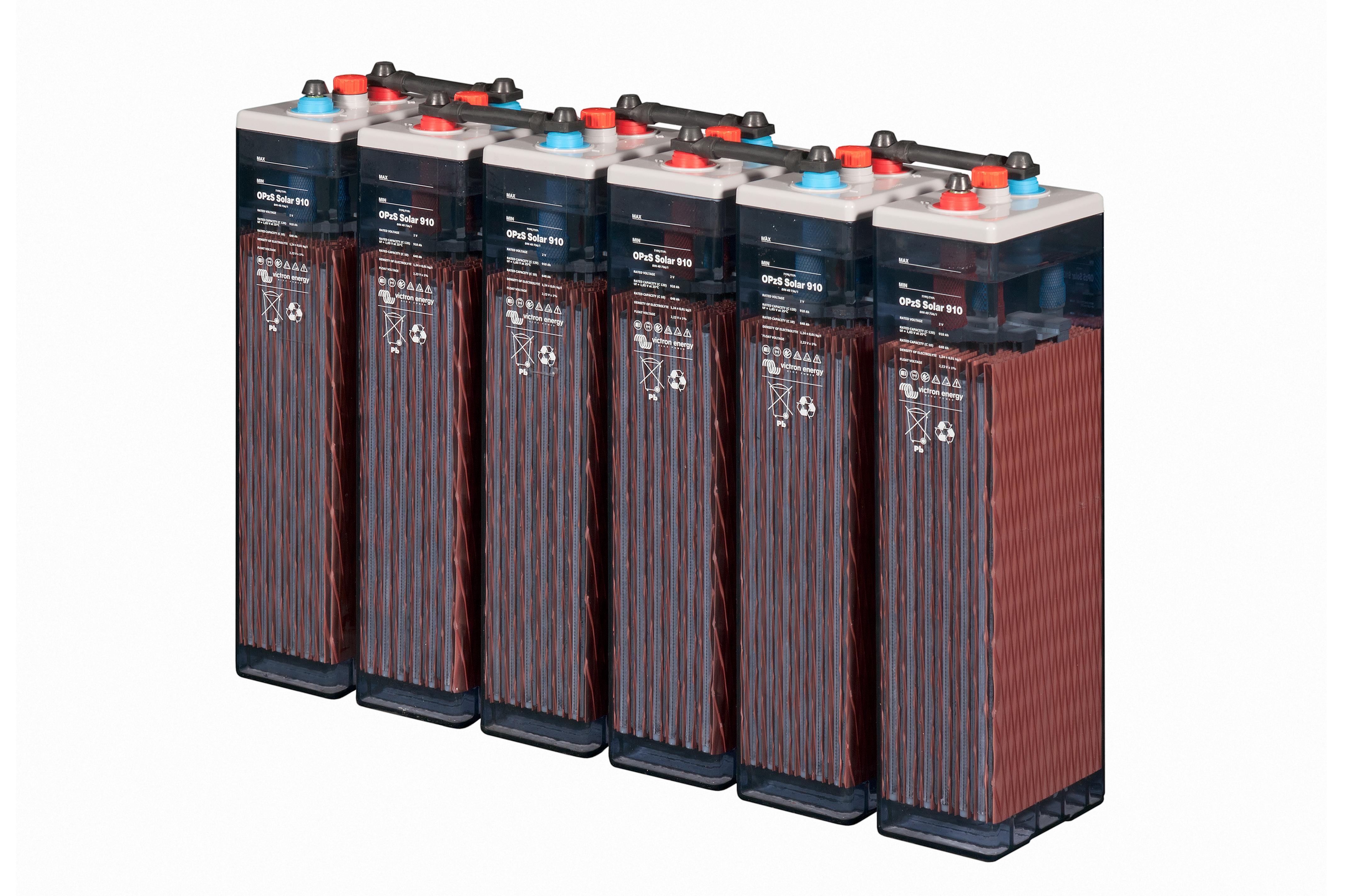 Baterias solar opzs gel agm 2v 6v 12v precios baterias for Baterias de placas solares
